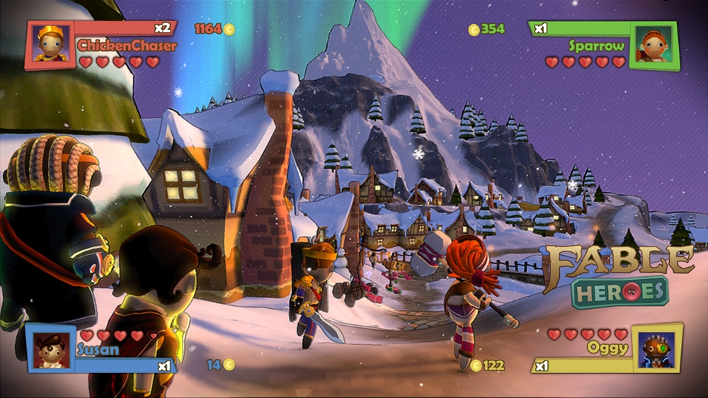 Juego Fable Heroes De Xbox Live Arcade Nosplay Red Social De