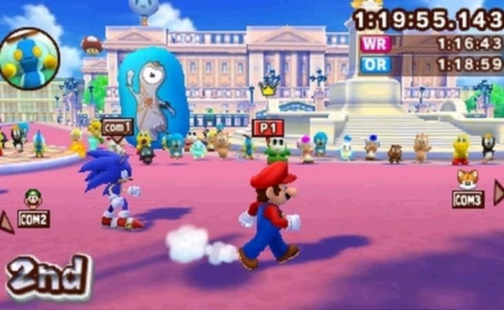 Los Juegos Olimpicos Llegan A Nintendo 3ds De Mano De Mario Sonic