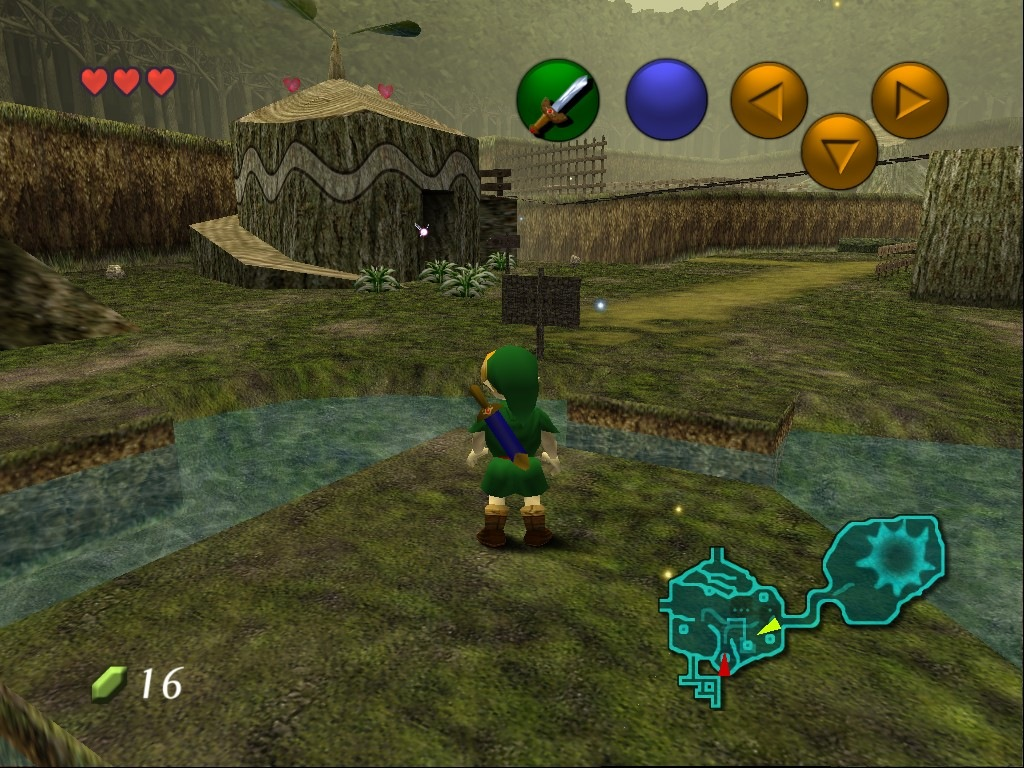 Zelda Ocarina Of Time Espanol N64
